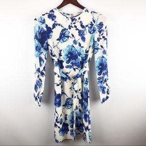 Tory Burch Giovanna Silk Floral Dress
